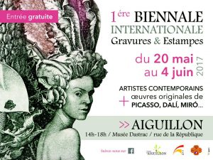 1ére Biennale internationale Gravures & Estampes.