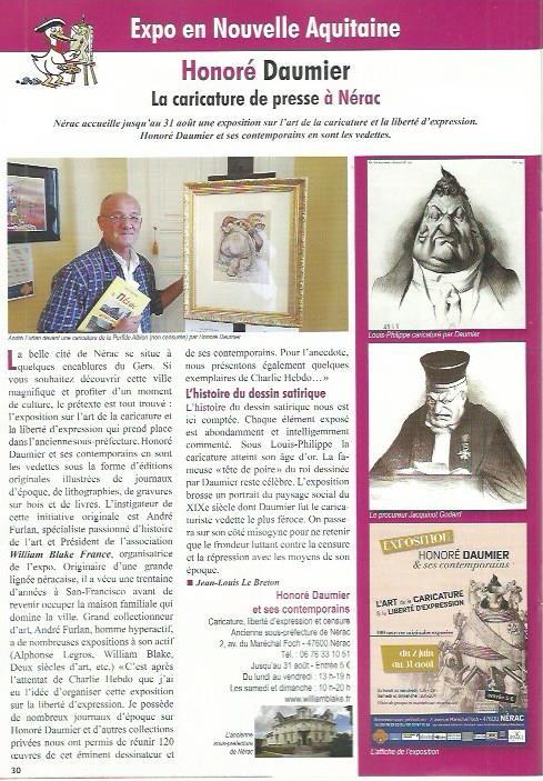 Honoré Daumier à Nérac