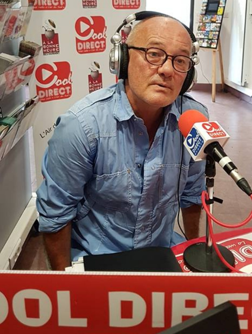 Interview radio d'André Furlan sur Cool Direct