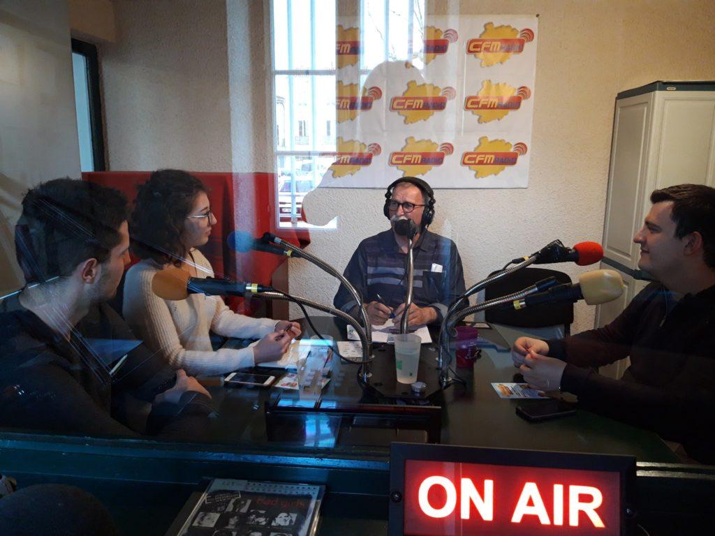 La Biennale 2019 sur CFM Radio.