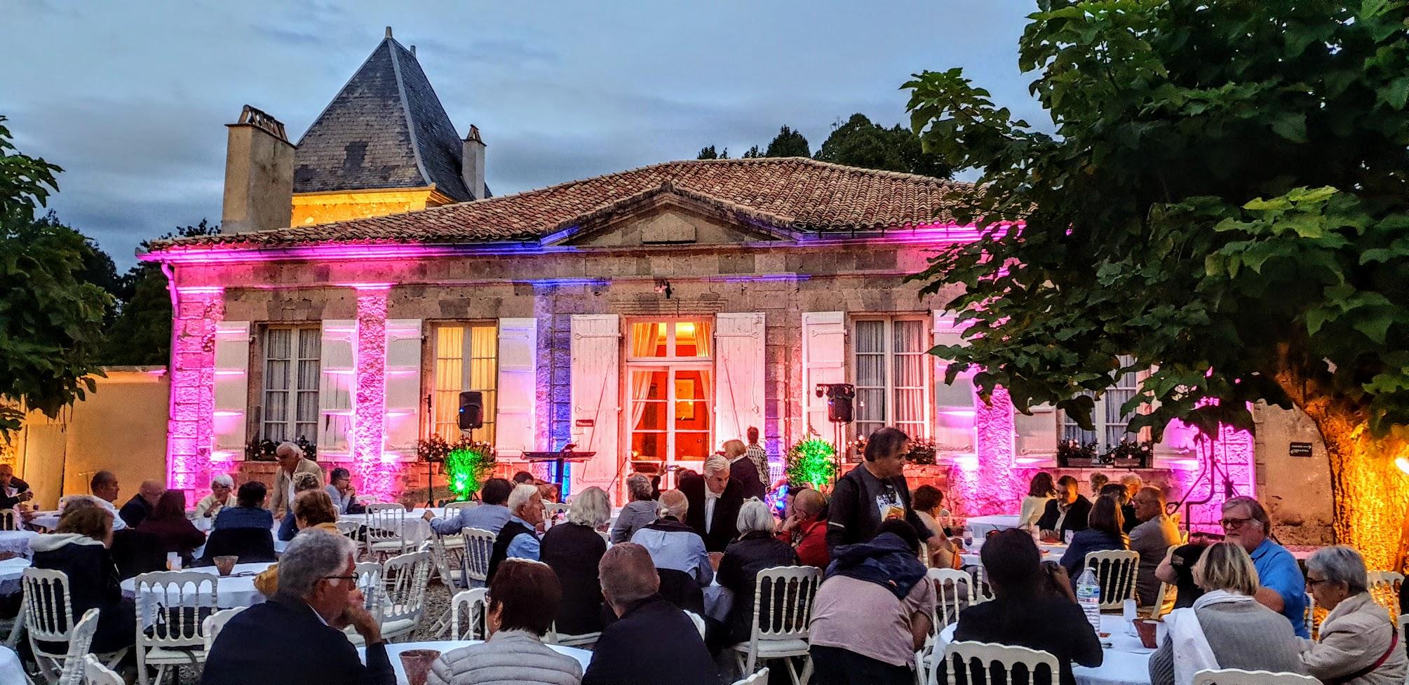 Soirée-spectacle Christian Moulié au Château de La Hitte