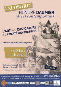 Exposition Honoré Daumier & ses contemporains